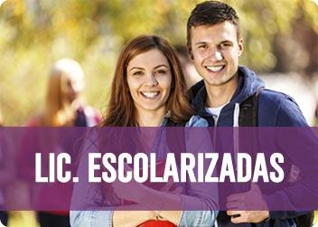 Licenciaturas Escolarizadas