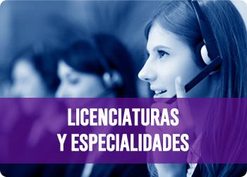 Licenciaturas Especiales